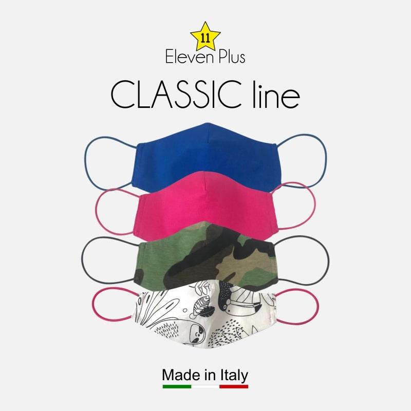 Classic line ELEVEN PLUS face masks