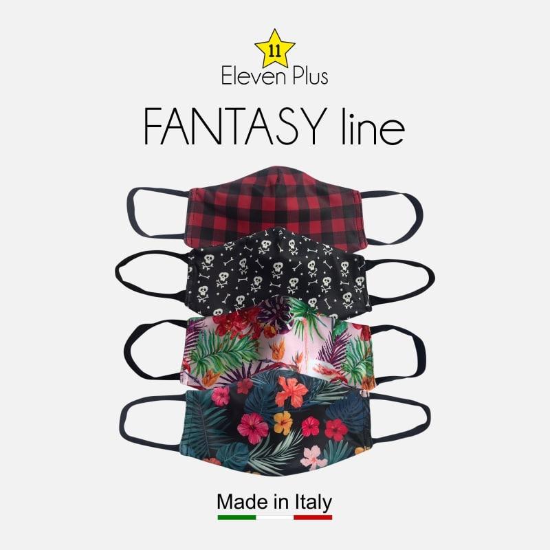 Fantasy line ELEVEN PLUS face masks