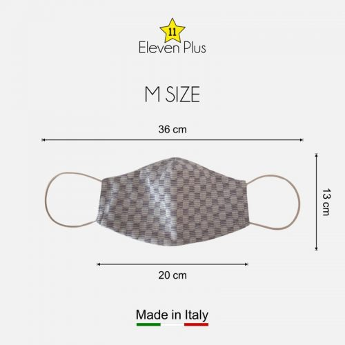 water repellent breathable washable reusable face mask chess pattern m