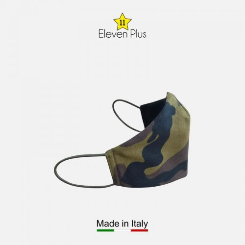 water repellent breathable washable reusable face mask green camouflage 2