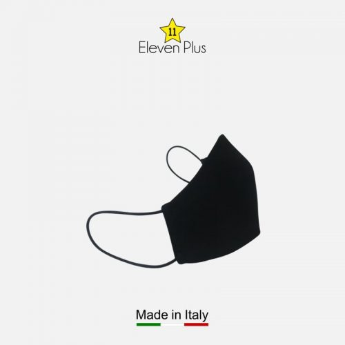 water repellent breathable washable reusable face mask solid black 2