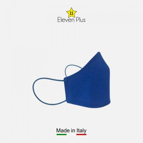 water repellent breathable washable reusable face mask solid blue 2