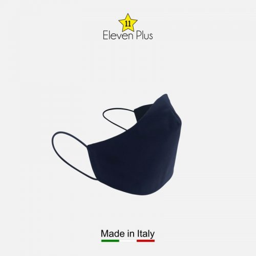 water repellent breathable washable reusable face mask solid navy blue 2