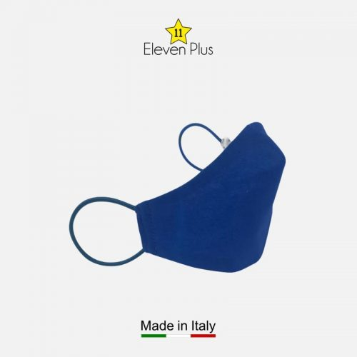 water repellent breathable washable reusable face mask solid royal blue for boys 2